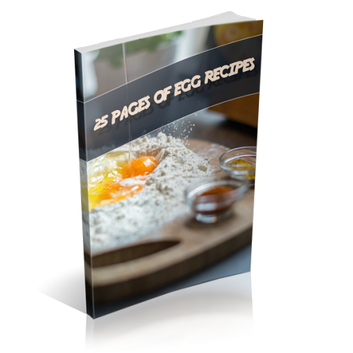 Egg Recipes - 25 Pages Of Basic Recipes With Photos