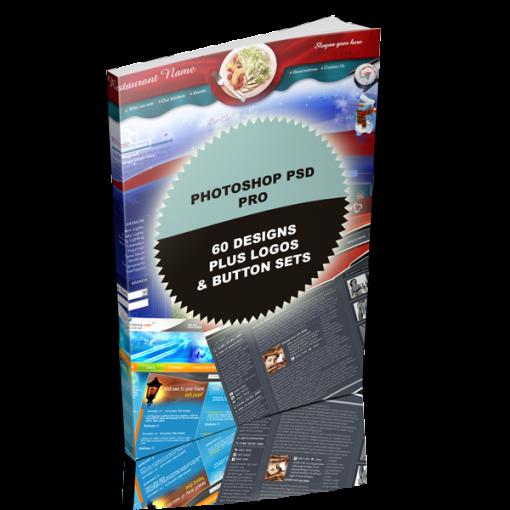 Photoshop PSD Pro - 60 PSD Designs