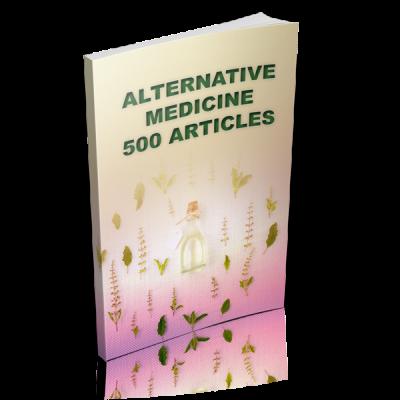 Alternative Medicine - 500 Articles