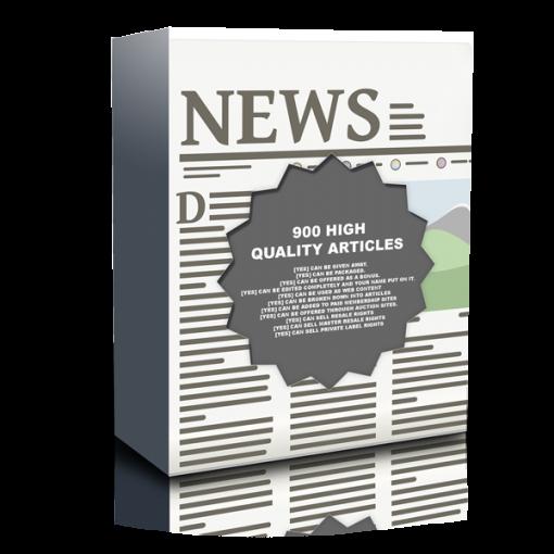 900 Articles