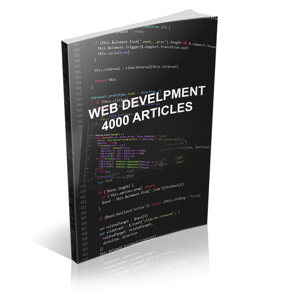 Web Development - 4000 Articles