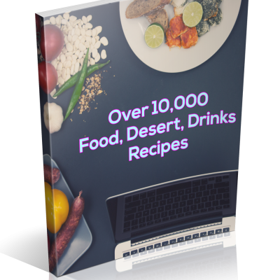 Recipes - Over 10,000 food drinks dessert recipes | Digital Download