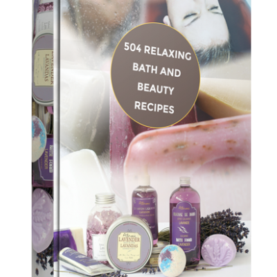 Bath - Over 500 Relaxing Bath and Beauty Recipes | Digital Download