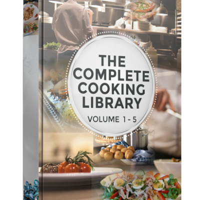 Cooking - The Complete Library Of Cooking - Volume 1 to 5 | Digital Download