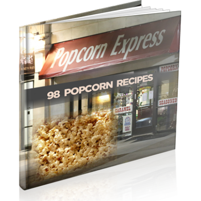 Popcorn - 98 Popcorn Recipes | Digital Download