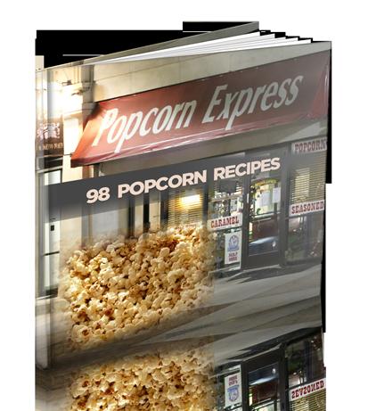 Popcorn - 98 Popcorn Recipes | Digital Download