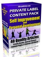 SELF IMPROVEMENT & PERSONAL DEVELOPMENT | Digital Download