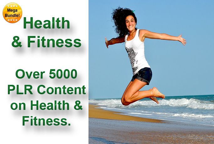 Health and Fitness - Over 5000 Articles - Digital Download