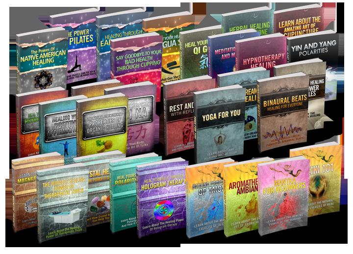 30 Natural Healing eBook Package