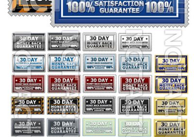Graphics - 1000 PNG Webpage Graphics, Digital Download