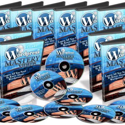 WordPress Mastery Videos | 60 Tutorial Videos | Instant Digital Download