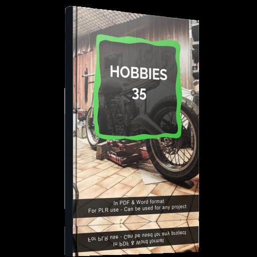 Hobbies - 35 Articles