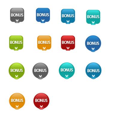 bonus buttons