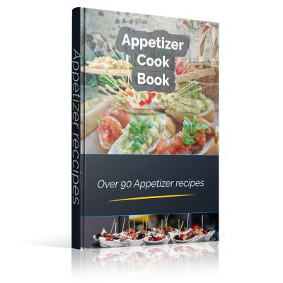 Appetizer Cookbook - 90 Recipes