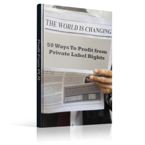 50 Ways To Profit From PLR